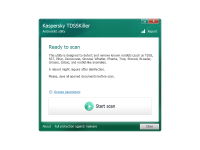 Kaspersky TDSSKiller Portable 3.1.0.12 screenshot. Click to enlarge!
