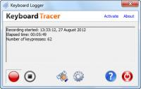 Keyboard Tracer (formerly Keyboard Logger) 2.9.0.0 screenshot. Click to enlarge!
