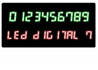 LED Digital 7 1.1 screenshot. Click to enlarge!
