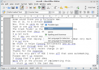 LanguageTool 3.8 screenshot. Click to enlarge!
