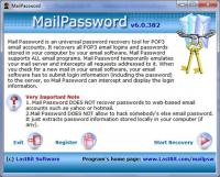 LastBit Mail Password Recovery 6.0.382 screenshot. Click to enlarge!
