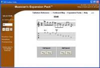 Lead Guitar Licks, Riffs, and Chops 3.0 screenshot. Click to enlarge!