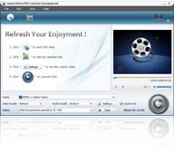 Leawo DVD to PSP Converter 4.4.0.0 screenshot. Click to enlarge!