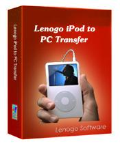 Lenogo iPod to PC Transfer 4.1.4 screenshot. Click to enlarge!