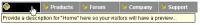 Link Show (Text/Horizontal Edition) 1.0 screenshot. Click to enlarge!
