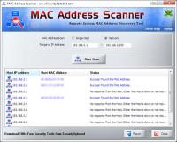 MAC Address Scanner 4.0 screenshot. Click to enlarge!