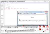 MC Musiceditor 8.4.2 screenshot. Click to enlarge!