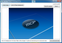 MCP VLC Player Background Changer 1.8 screenshot. Click to enlarge!