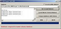 MDB Repair Tool 2.6.0 screenshot. Click to enlarge!