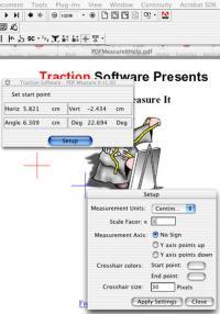 Mac PDF Measure It 1.01 screenshot. Click to enlarge!