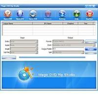 Magic DVD Rip Studio 8.0.7.24 screenshot. Click to enlarge!
