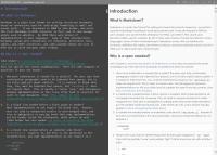 Markdown Edit 1.32 screenshot. Click to enlarge!