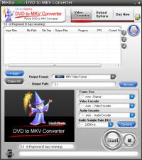MediaSanta DVD to MKV Converter 5.0 screenshot. Click to enlarge!