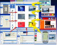 Mediabooster V1.2 screenshot. Click to enlarge!