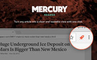 Mercury Reader for Chrome 4.2.4.0 screenshot. Click to enlarge!