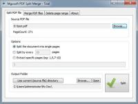 Mgosoft PDF Split Merge SDK 9.0.1 screenshot. Click to enlarge!