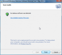 Microsoft Malicious Software Removal Tool 5.49.13902.0 screenshot. Click to enlarge!