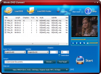 Movie DVD Convert 8.8.1 screenshot. Click to enlarge!
