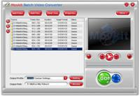 Movkit Batch Video Converter 3.5.5 screenshot. Click to enlarge!