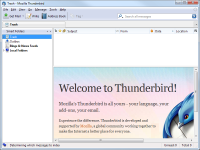 Thunderbird 52.1.1 screenshot. Click to enlarge!