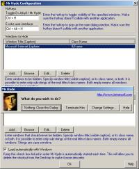 Mr Hyde 1.0 screenshot. Click to enlarge!