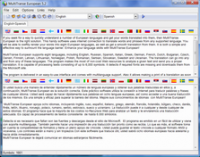MultiTranse European 6.4 screenshot. Click to enlarge!