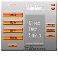 Music Disc Studio 1.0 screenshot. Click to enlarge!