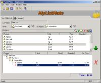 MyListMate 2.50.2 screenshot. Click to enlarge!
