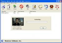 NewLive RM To AVI VCD SVCD DVD Converter 7.9 screenshot. Click to enlarge!