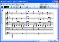 Notation Player 3.0.3 screenshot. Click to enlarge!