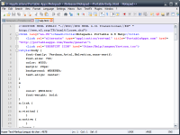 Notepad++ 6.4.3 screenshot. Click to enlarge!