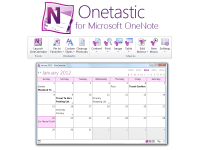 Onetastic for Microsoft OneNote 3.6.0 screenshot. Click to enlarge!