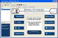 Open Fitness 2.0 screenshot. Click to enlarge!