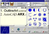 OutlineArt 1.9 screenshot. Click to enlarge!