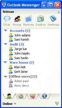 Outlook LAN Messenger 6.0.39 screenshot. Click to enlarge!