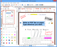 PDF Annotator 6.1.0.612 screenshot. Click to enlarge!