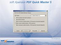 PDF Quick Master 3.5 screenshot. Click to enlarge!