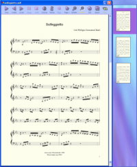 PDFtoMusic 1.6.2.195D1 screenshot. Click to enlarge!