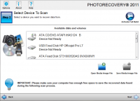 PHOTORECOVERY Standard 2017 5.1.6.0 screenshot. Click to enlarge!