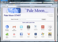 Portable Pale Moon 27.3.0 screenshot. Click to enlarge!