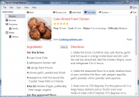 Paprika Recipe Manager 1.1.1 screenshot. Click to enlarge!