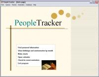 PeopleTracker 2.0 screenshot. Click to enlarge!