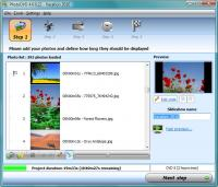 PhotoDVD 4.0.0.37d screenshot. Click to enlarge!