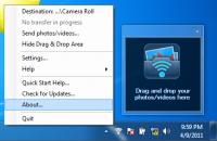 PhotoSync Companion 3.1.3.0 screenshot. Click to enlarge!