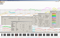 PianoRollComposer 2.56 screenshot. Click to enlarge!