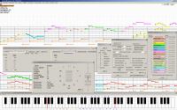 PianoRollComposer 2.56 screenshot. Click to enlarge!