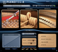 Pianoteq 5.8.0/20161102 screenshot. Click to enlarge!