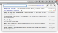 Pickpocket for Chrome 1.3.5.0 screenshot. Click to enlarge!