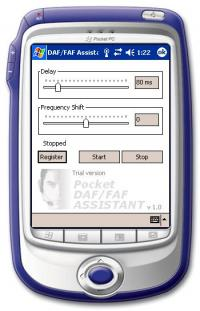 Pocket DAF/FAF Assistant 2.0 screenshot. Click to enlarge!