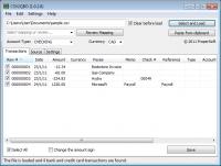 Portable CSV2QBO 3.0.6.1 screenshot. Click to enlarge!